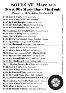 Soulcat Programm März2016